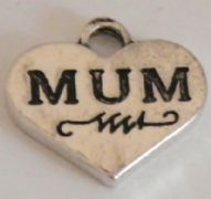 Mum Initial Necklaces - Charm Style